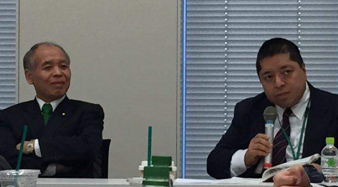鈴木宗男、佐藤優両先生登壇の勉強会で、平昌オリンピック裏での攻防に、仮想通貨及びAIが導く未来に・・ さまざま考えさせられてきた:「東京大地塾」参加記 ⑬