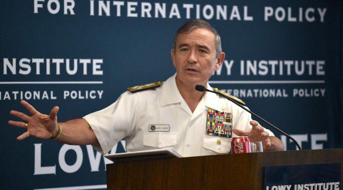 オーストラリア ライフスタイル&ビジネス研究所:駐オーストラリア米国大使にハリー・ハリス元米太平洋軍司令官就任の運び