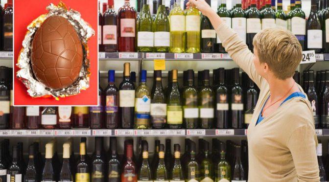 オーストラリア ライフスタイル&ビジネス研究所:イースター休暇の買物金額、ワインがチョコレートを上回る