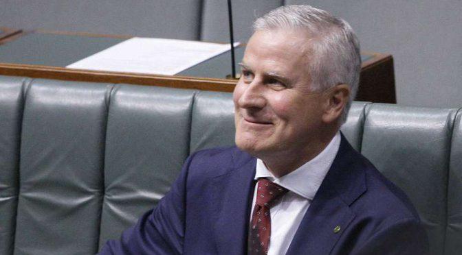 オーストラリア ライフスタイル&ビジネス研究所:新 副首相にマイケル・マコーマック国民党代表を選出