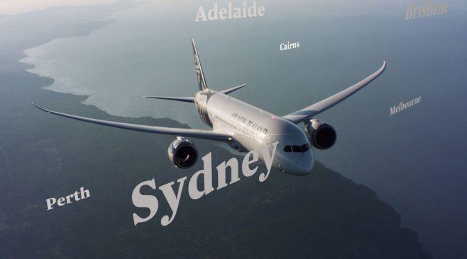 オーストラリア ライフスタイル&ビジネス研究所:企業好感度インデックス ニュージーランド航空がトップ
