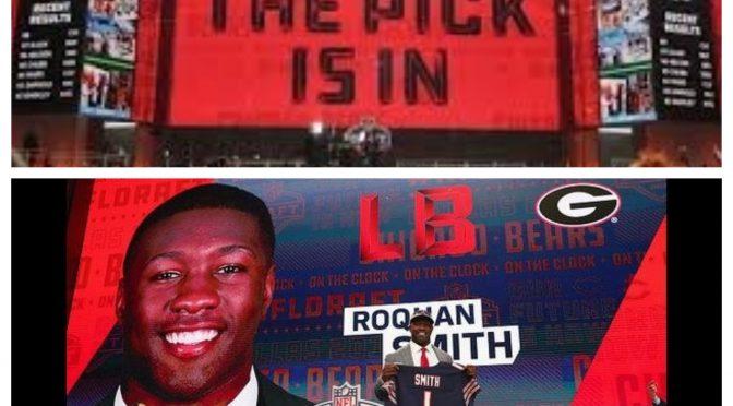 シカゴ・ベアーズ、全体8位でロクワン・スミスを指名(2018 NFLドラフト)
