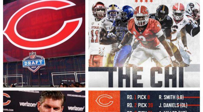 シカゴ・ベアーズ、2018 NFLドラフトで7つの未来を選択
