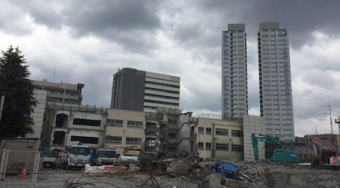 取り壊された母校、、 そして瓦礫のみになった(桃丘小学校 その後)