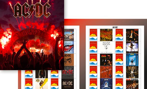 オーストラリア ライフスタイル&ビジネス研究所:郵便公社発行 AC/DC切手シリーズが物議