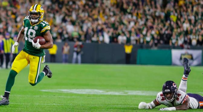 シカゴ・ベアーズ、怒っと疲れる逆転負けで黒星スタート:NFL 2018シーズン 第1週
