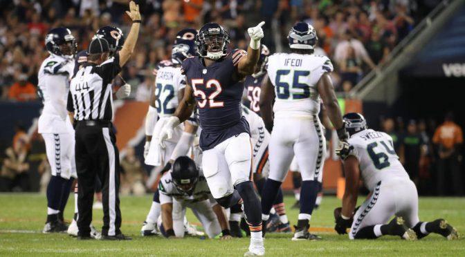 シカゴ・ベアーズ、ホーム開幕戦を制しシーズン1勝1敗:NFL 2018シーズン 第2週