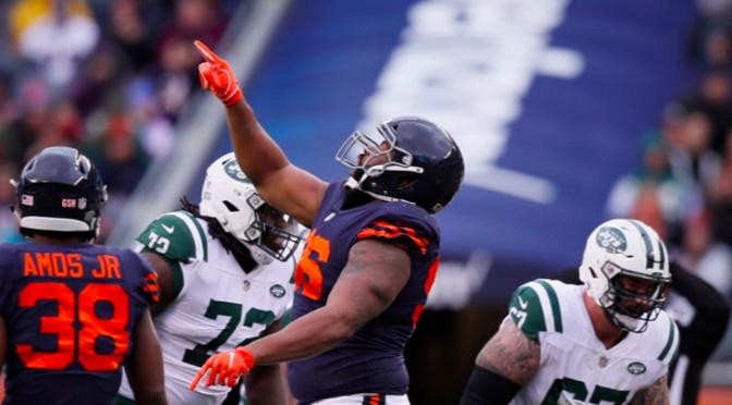 シカゴ・ベアーズ、着実なゲーム運びでシーズン4勝目:NFL 2018シーズン 第8週