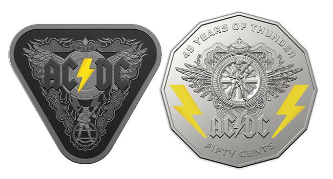 オーストラリア ライフスタイル & ビジネス研究所:連邦政府 「AC/DC 45周年記念硬貨」発行を発表
