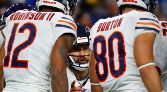 シカゴ・ベアーズ、デトロイトで掴んだ大きな勝利で地区首位快走:NFL 2018シーズン 第12週