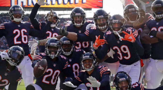 シカゴ・ベアーズ、攻守に手応え感じる3連勝で6勝目:NFL 2018シーズン 第10週