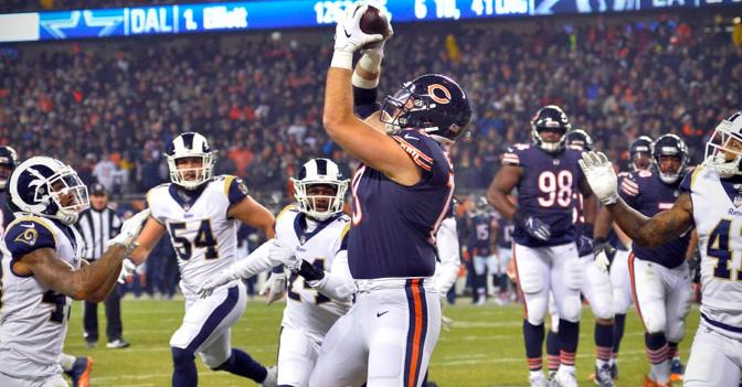 シカゴ・ベアーズ、堅守でチームに自信を宿すシーズン9勝目:NFL 2018シーズン 第14週