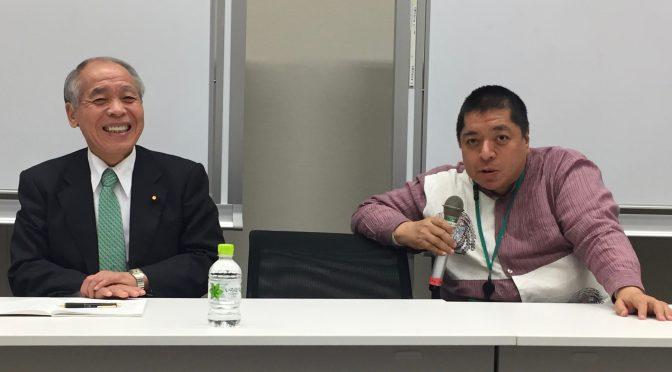 鈴木宗男、佐藤優両先生登壇の勉強会で、日露関係の進捗に、日本の外交姿勢に、日産自動車問題に・・ さまざま考えさせられてきた:「東京大地塾」参加記 ⑳