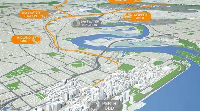 オーストラリア ライフスタイル & ビジネス研究所:パース空港鉄道、完成は2021年後半に延期