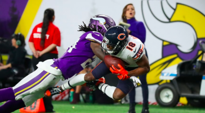 シカゴ・ベアーズ、12勝4敗、第3シードで、いざプレーオフ:NFL 2018シーズン 第17週