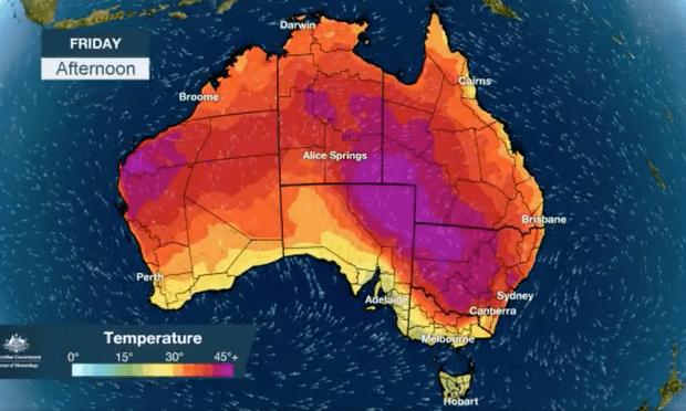 オーストラリア ライフスタイル & ビジネス研究所:ヌーナで最も高い最低気温を更新