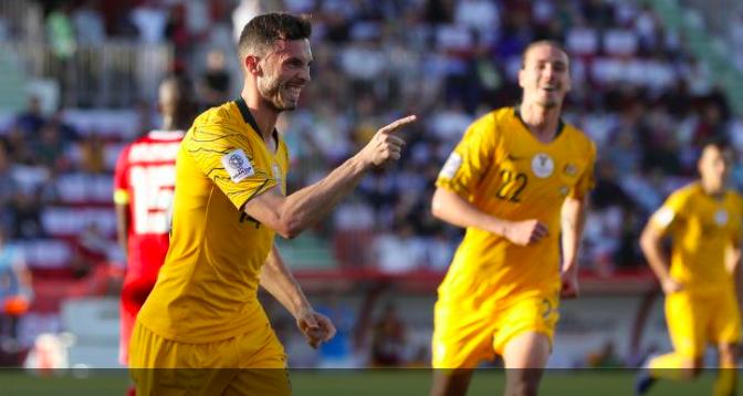 オーストラリア ライフスタイル & ビジネス研究所:サッカールーズ、パレスチナ代表を下し、15日シリア代表と対戦(AFCアジアカップ)