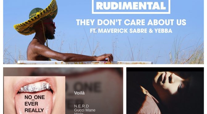 J-WAVEな日々に魅了された曲紹介 PART 66 〜 N.E.R.D, Gucci Mane, Wale, RUDIMENTAL & STEPHENSMITH