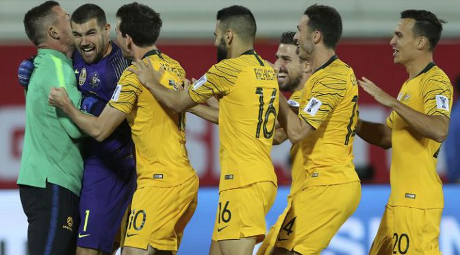 オーストラリア ライフスタイル & ビジネス研究所:サッカールーズ、PK戦でウズベキスタンを振り切り準々決勝へ(AFCアジアカップ)