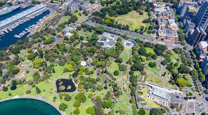 オーストラリア ライフスタイル&ビジネス研究所:シドニー中心部の緑の楽園「王立植物園」