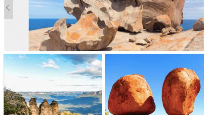 オーストラリア ライフスタイル&ビジネス研究所:美しくも奇妙な自然の造形「奇岩が作り出した世界の絶景」②