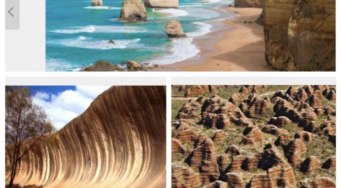 オーストラリア ライフスタイル&ビジネス研究所:美しくも奇妙な自然の造形「奇岩が作り出した世界の絶景」①