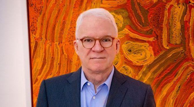オーストラリア ライフスタイル&ビジネス研究所:スティーブ・マーティン、アボリジニアートをガゴシアン・ギャラリーに貸出し