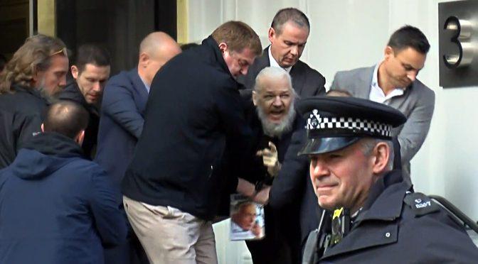 オーストラリア ライフスタイル&ビジネス研究所:ジュリアン・アサンジ逮捕で在英エクアドル大使館から排除