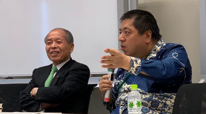 鈴木宗男新党大地代表、佐藤優さん登壇の勉強会で、『友情について  僕と豊島昭彦君の44年』のその後に、戦争発言の深層に・・ 現実を考えさせられてきた:「東京大地塾」参加記 ㉑