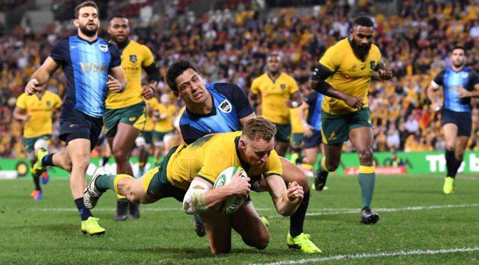オーストラリア ライフスタイル&ビジネス研究所:ワラビーズ、アルゼンチン代表を下し1勝1敗(2019 ザ・ラグビーチャンピオンシップ)