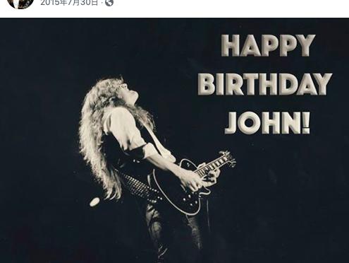 静かに迎えたJohn Sykes 60歳の誕生日