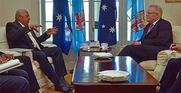 オーストラリア ライフスタイル&ビジネス研究所:ボレンゲ・バイニマラマ首相(フィジー)、スコット・モリソン首相を非難