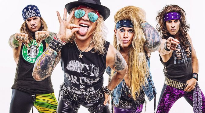STEEL PANTHER らしさ全快の5thアルバム HEAVY METAL RULES 9月27日リリース決定。