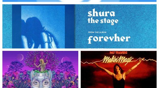 街中で音楽認識アプリSHAZAMを稼働させ、Shura, Erykah Badu & Pat Travers のデータにアクセス、曲を改めて楽しめた♪ (SHAZAM #17)