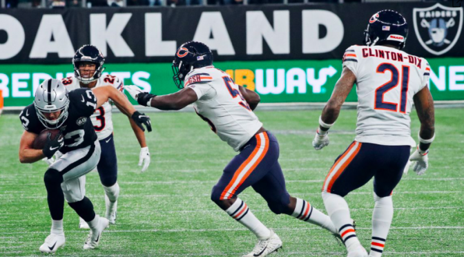 シカゴ・ベアーズ、ロンドンに渡ってスリリングな展開も、土壇場で逆転喰らう痛恨の敗戦:NFL 2019シーズン 第5週