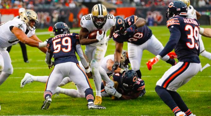 シカゴ・ベアーズ、覇気感じられぬ連敗で3勝3敗の振り出しに:NFL 2019シーズン 第7週