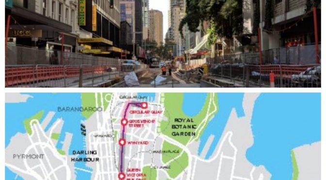 オーストラリア ライフスタイル&ビジネス研究所:シドニー、ジョージ・ストリートをパリやローマ風に