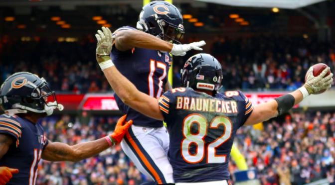 シカゴ・ベアーズ、内容はさておいて・・ 勝つには勝って9月以来の勝利で4勝5敗:NFL 2019シーズン 第10週