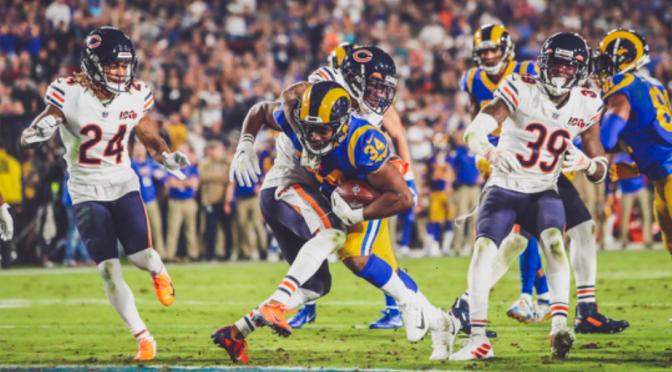 シカゴ・ベアーズ、遥かなるエンドゾーン・・ シーズンの夢遠のく6敗目:NFL 2019シーズン 第11週