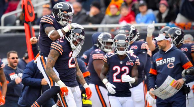 シカゴ・ベアーズ、勝負運だけあった!12月に望みつなぐ5勝目:NFL 2019シーズン 第12週
