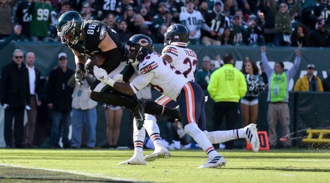 シカゴ・ベアーズ、プレーオフの雪辱ならず光見出せぬ4連敗:NFL 2019シーズン 第9週