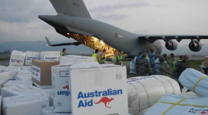 オーストラリア ライフスタイル&ビジネス研究所:海外援助予算配分大幅見直しへ