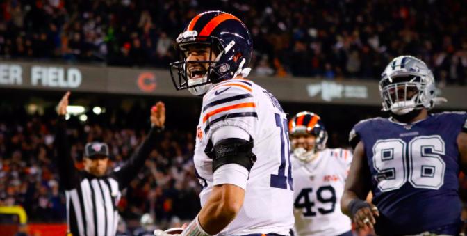 シカゴ・ベアーズ、シーズン終盤の3連勝でプレーオフへの望みつなぐ:NFL 2019シーズン 第14週