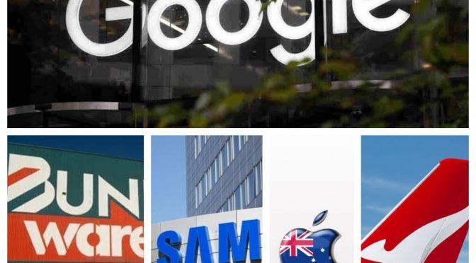 オーストラリア ライフスタイル&ビジネス研究所:ブランドランキング、グーグルが1位