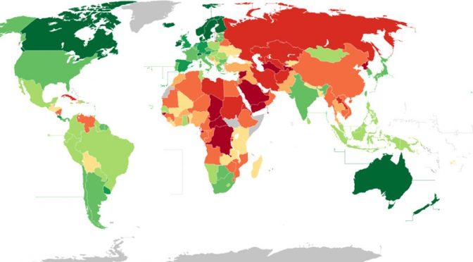 オーストラリア ライフスタイル&ビジネス研究所:世界167ヵ国の「民主主義指数ランキング」(#9 オーストラリア)