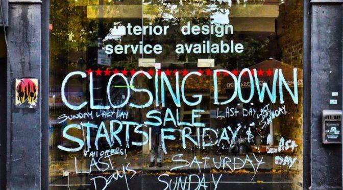 オーストラリア ライフスタイル & ビジネス研究所:小売各社の破綻、政府の労働者補償増加