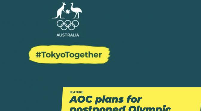 オーストラリア ライフスタイル & ビジネス研究所:AOC、選手に「2021年」東京五輪に備えるよう提唱