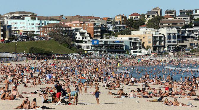 オーストラリア ライフスタイル&ビジネス研究所:ボンダイビーチ、約5週間ぶりに閉鎖解除