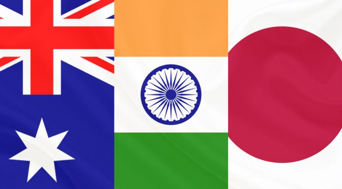 オーストラリア ライフスタイル&ビジネス研究所:中国との対立激化。日本、インドと連携強化へ