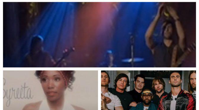 街中で音楽認識アプリSHAZAMを稼働させ、Syeeta, Maroon 5 のデータにアクセス、曲を改めて楽しめた♪(SHAZAM #25)
